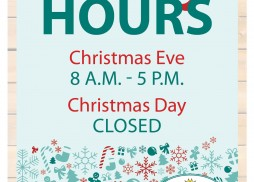 holiday hours sign 2014
