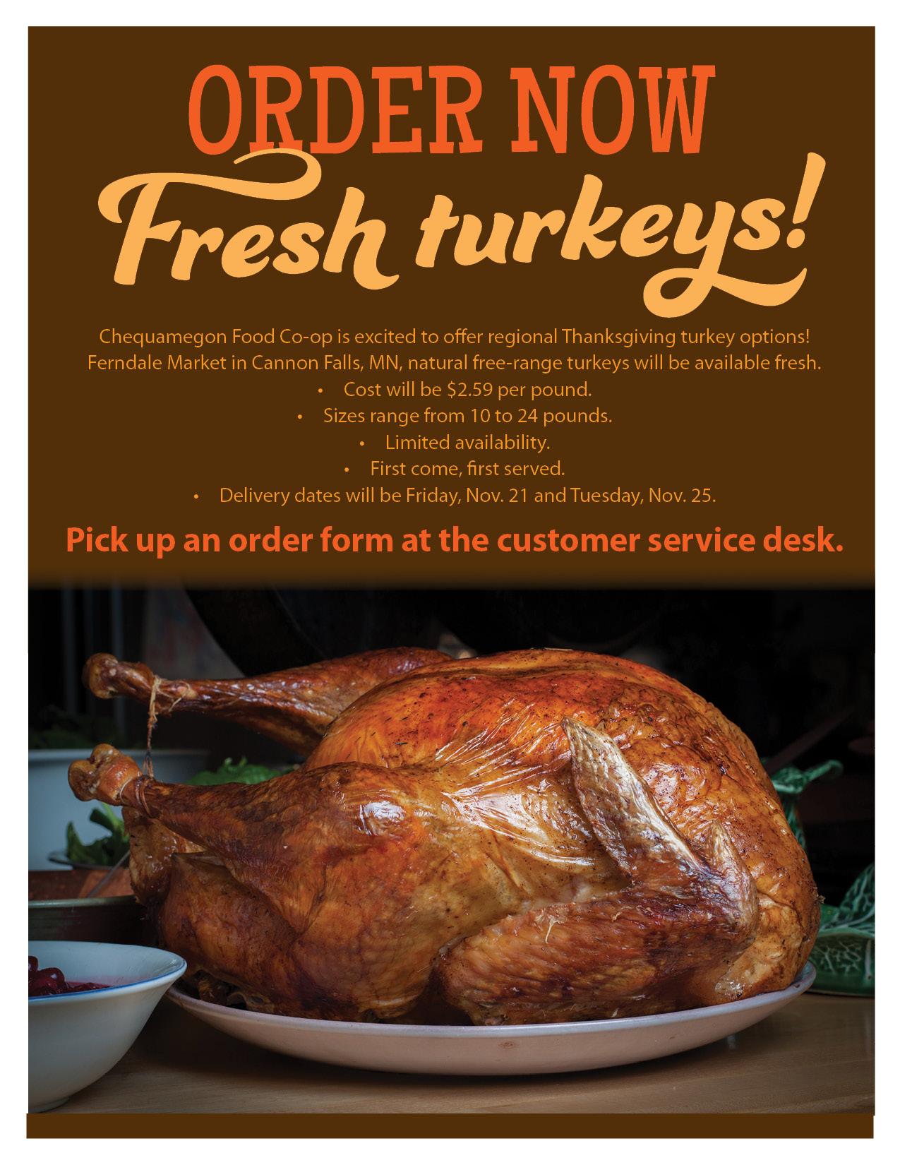 turkey preorder 2014