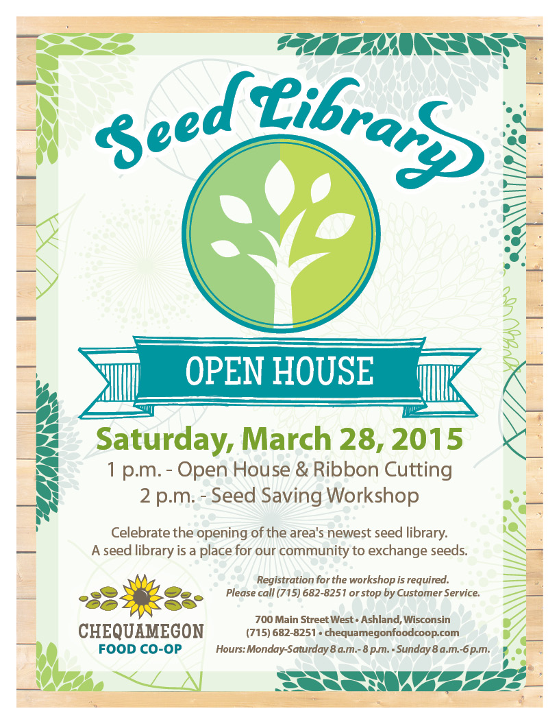 seed library open house
